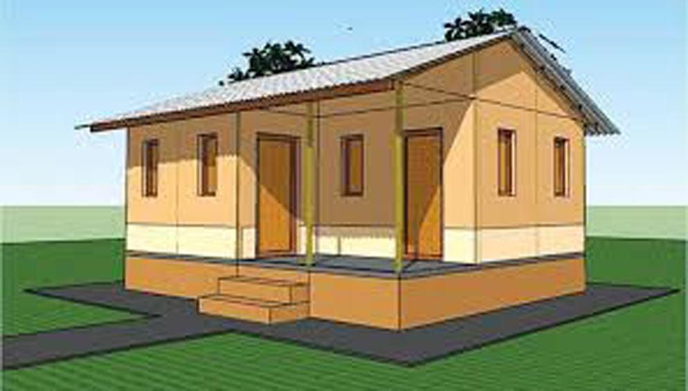 जनता आवास ः अन्तिम किस्ता पाए सँगै घर निर्माण