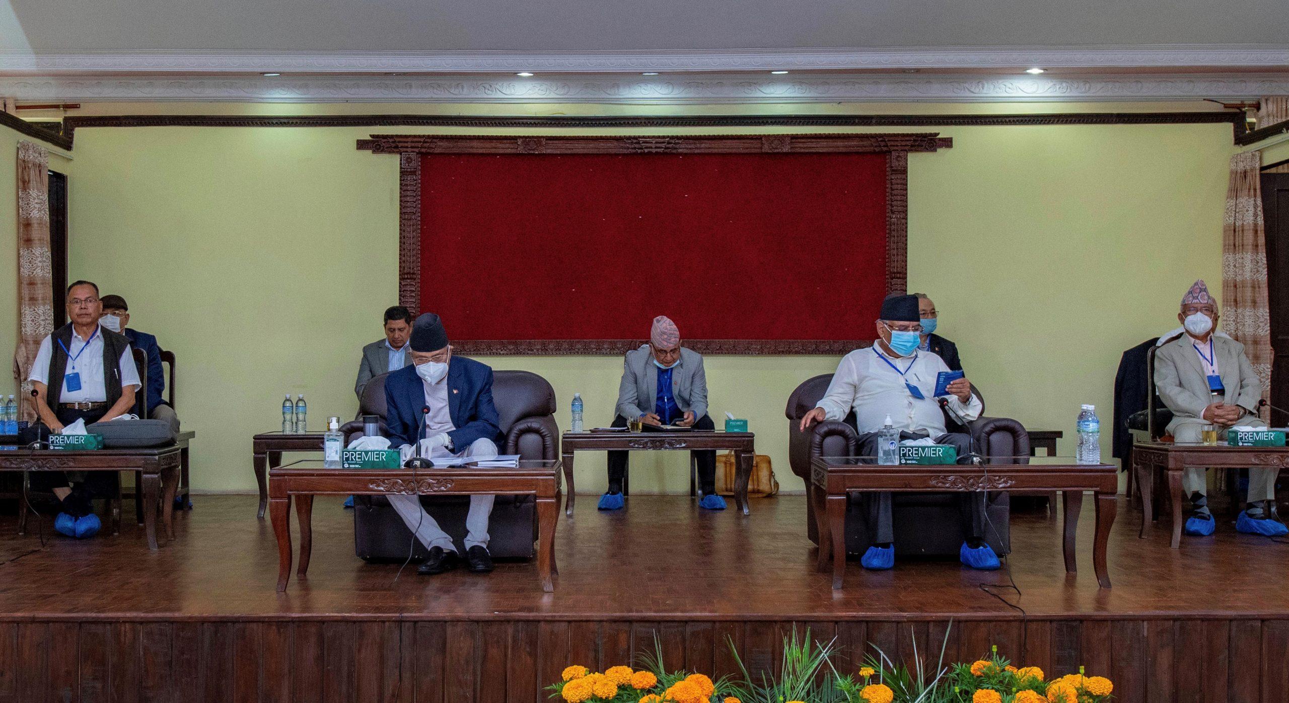 नेकपा स्थायी समिति बैठक ः पाँच एजेन्डा तय, एमसिसी चौथो नम्बरमा