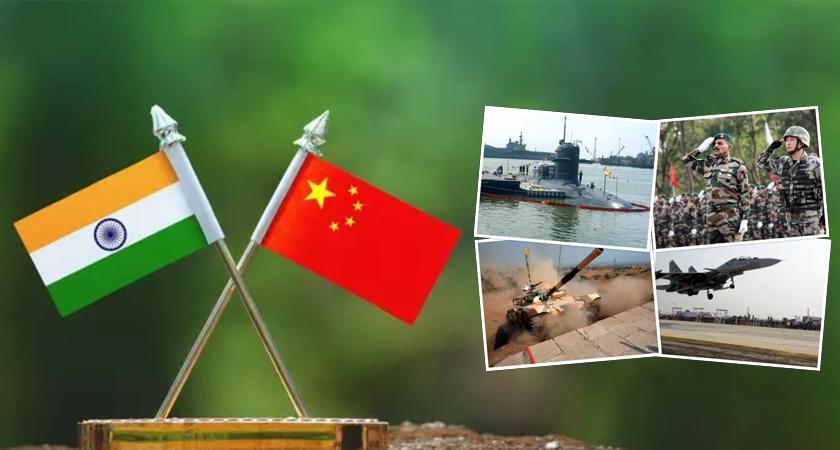 चीन र भारत ः कसको सैन्य शक्ति कति ?