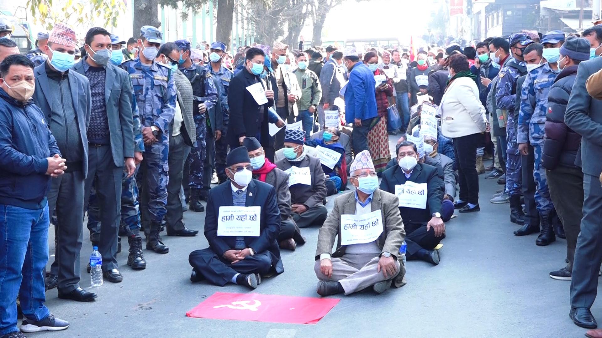 दाहाल , नेपाल समूहको विरोध प्रदर्शन ः कुन र्यालीको नेतृत्व कसले गर्दैछन् ?