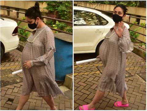 करिना कपुरको बेबी बम्प देखेर प्रशंसकले सोधे, 'जुम्ल्याहा छन् र ?