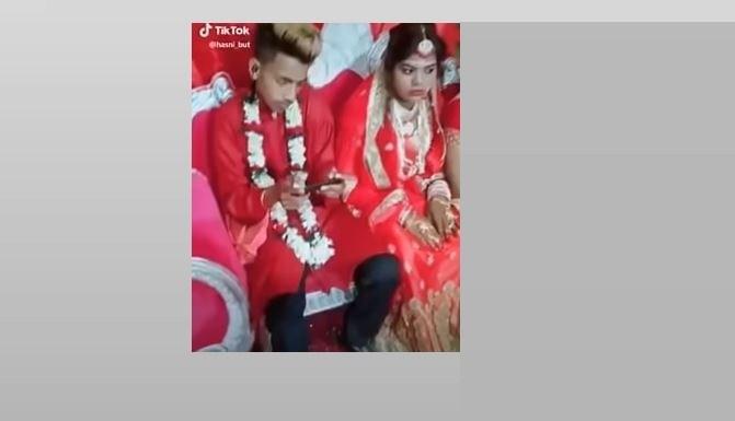 दुलहीलाई विवाह मण्डपमा छाडेर दुलाहा पब्जीमा व्यस्त ? (भिडियोसहित)