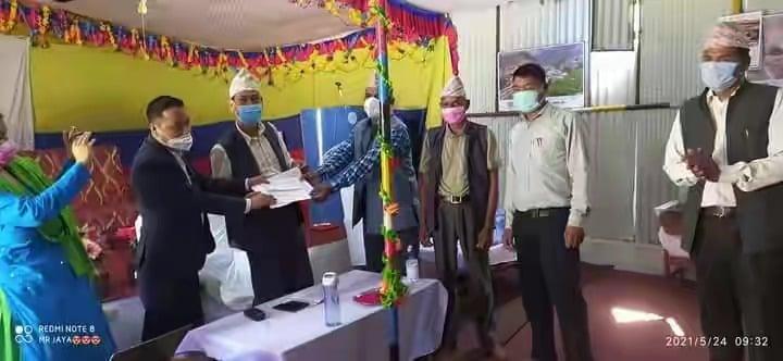 नलगाड बहुमुखी क्याम्पस बनाउन कर्मचारीको सहयोग