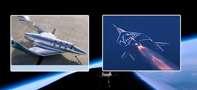 अन्तरिक्ष यात्रा गरेर सवा घण्टाभित्रै पृथ्वीमा फिर्ता