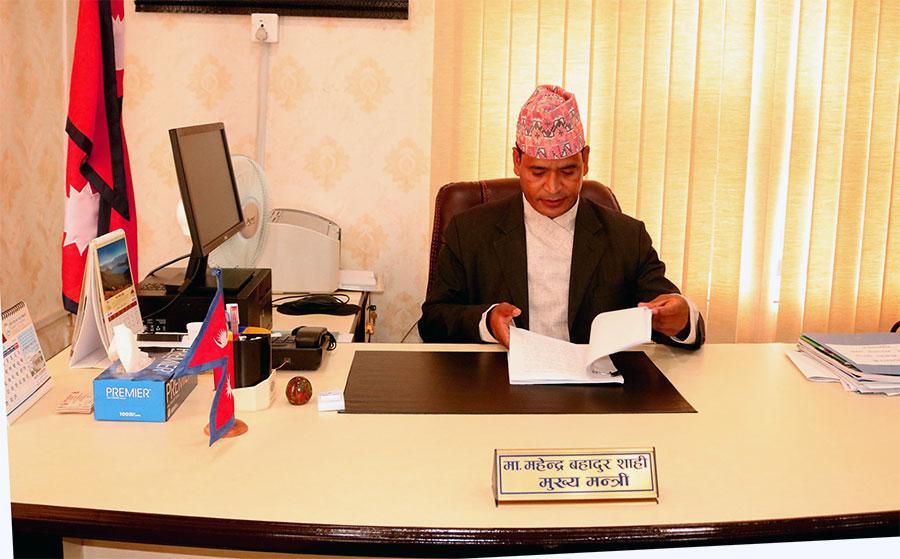 कर्णालीमा एमालेका ४ सांसद पदमुक्त हुँदा मुख्यमन्त्री शाही सुरक्षित